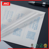 Quatre papier thermosensible d'étiquette d'expédition de la couleur 8 '' * 5.5 ''