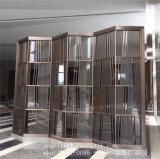 Neuer Entwurfs-kundenspezifischer dekorativer Metallbildschirm für Edelstahl-Raum-Teiler