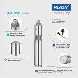 De nouvelles Haut de la qualité de la pompe submersible DC solaire du total des solides en acier inoxydable 316 de moulage