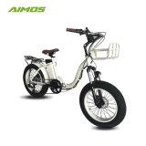 脂肪質のタイヤEbike電気500W中国Ebike/Eの自転車を折る20インチ