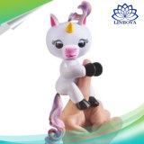 Het Stuk speelgoed van de Vinger van de Aap van de Eenhoorn van de Baby van het Huisdier van de Jonge vissen van Halloween Chirstmas voor de Giften van de Jonge geitjes van Kinderen