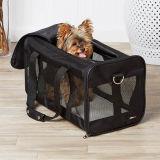 기초 검정은 연약하 편들어진 여행 애완 동물 운반대 항공에 의하여 승인된 애완 동물 부대를 송풍한다