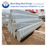 Heißes BAD galvanisierte Baugerüst-Stahlgefäße für Aufbau-Gestell