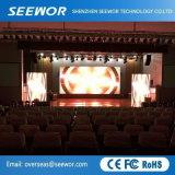 Comitato dell'interno di alluminio leggero dell'affitto LED di alta precisione P5mm per la fase e gli eventi