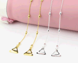 Cinghia del reggiseno del metallo di disegno di modo (MS-053) per le ragazze di modo