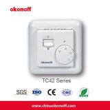 Elektro het Verwarmen van de Vloer van de Zaal Thermostaten (TC42)