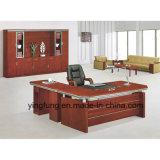 現代家具MDFの木の机のオフィス表Yf-2483