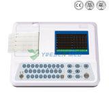 Macchina tenuta in mano portatile poco costosa medica della Manica ECG di Digitahi 12