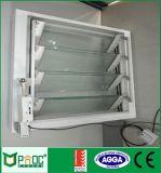 Auvent en verre en aluminium Windows avec l'écran de mouche de fibre