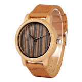 Modo Mens  Wooden  Watch  Sandalwood&#160 rosso; Vigilanza