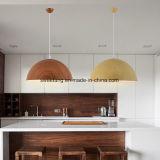 Dekoration-Schlafzimmer-Beleuchtung-Leuchter-hängendes Licht mit hölzerner Farbe