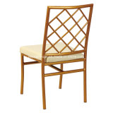 AluminiumHochzeitsempfang-Möbel-Mietbankett, das Stuhl (JY-J13, speist)