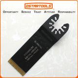 32.5mm (1-1/4 '') che extra-lungo di titanio bimetallico Rapido-Misura Multitool lama per sega