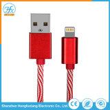 cavo universale del lampo di dati del USB di 5V/2.1A 1m per il telefono mobile