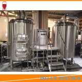 Feu de chauffage électrique à vapeur usine industrielle de l'équipement Projet d'usine de production de la brasserie de bière