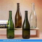 Bouteille de vin en verre brun foncé/ vert/ Superwhite couleur