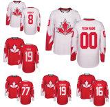 Vierge personnalisée Les Blackhawks de Chicago Jonathan Toews Jersey de Hockey sur glace