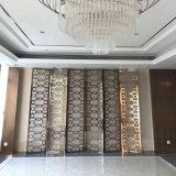 Les panneaux muraux métalliques décoratifs cloison en acier inoxydable