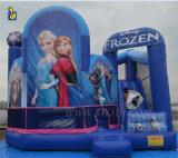 5 en 1 gonflable sur le thème de la neige Playhouse, Inflatable bouncer