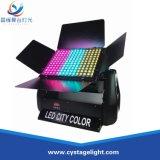Indicatore luminoso esterno di colore della città della costruzione 180*3With 9W LED della parete impermeabile della rondella