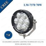 10-30V 7 des Zoll-Auto-LED Punkt Arbeits-des Licht-70W/Flut/kombinierter Träger CREE, der Straßen-Lichter abtreibt