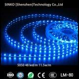 Luz de tira de la consumición LED de las energías bajas de voltio del RGB 5050 SMD 12V/24V de la magia
