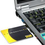 Lecteur Flash USB de carte de crédit de 2 Go