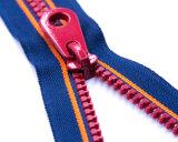 Zipper de Vislon com qualidade colorimétrica/superior da fita