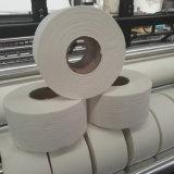 Máquina de papel pequena de tecido do toalete do rolo Maxi automático do rebobinamento