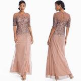 Frauen Ombre Sequin-Abend-Kleid
