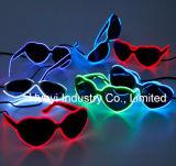 EL-Drähte leuchten Inner-Sonnenbrillen