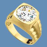 anello di oro giallo 9k con la pietra preziosa (LRG1253)