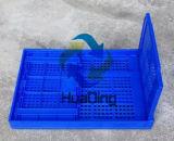 """540X360X300m m (22 """" *15 """" *12 """") embalajes plásticos plegables de la distribución del alimento y del vehículo"""