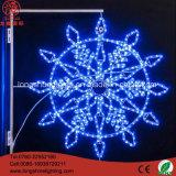 Lumière de Noël de modèle de flocon de neige/lumière de Noël Mannfaccturer