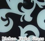 예술 유리/그려진 유리, 강화 유리 (JINBO)를 인쇄하는 실크 스크린