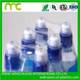 Film de rétrécissement clair de la chaleur de PVC pour l'étiquette de bouteille