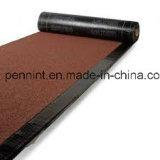 Mineraloberflächen-Polyester verstärkte Bitumen-wasserdichte Membrane