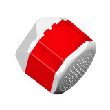 Mini haut-parleur portatif de Bluetooth de cube en logo fait sur commande