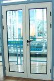 Double porte à battants en aluminium à charnière porte en fer porte métallique