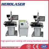 Électronique grand public Étui pour téléphone cellulaire 400W Soudeur laser Soudage de point avec Engergy Feedback System