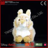 Coelho macio do brinquedo do luxuoso do animal enchido do coelho para miúdos
