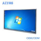 55インチの壁の台紙のWindows 7の表示を広告するマルチタッチ画面LCD