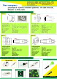 Laser lente asférica Colimador lente de cristal
