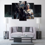 HD напечатало Witcher Geralt и картину Ciri на холстине Mc-081 изображения плаката печати украшения комнаты холстины