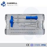 Instrumento quirúrgico fijado para los productos de la espina dorsal, instrumento médico de Canwell Orthpedic