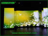 Visualizzazione di LED dell'interno fusa sotto pressione peso leggero di alta risoluzione dell'affitto P3.91