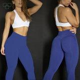 体操の女性のバット上昇の堅いスポーツのレギングの適性のヨガのズボン