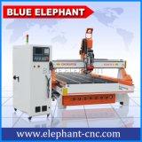 Grabador de madera del CNC de la alta calidad de Ele 1530, máquina de grabado de madera del CNC de 4 ejes para la venta