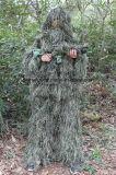 Прочный костюм подкладки 3D Camo Ghillie сетки лесного продукта