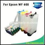 아트지 잉크를 가진 Epson Wf600를 위한 잉크젯 프린터 T0691 잉크 제트 부피 잉크 CISS